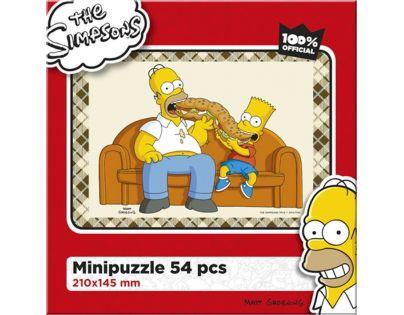 Efko Puzzle The Simpsons Maxibageta
