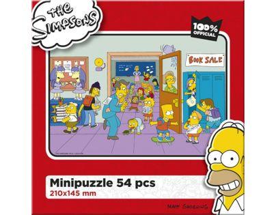 Efko Puzzle The Simpsons Pohoda ve škole