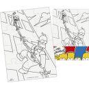 Efko Puzzle The Simpsons Vymaluj si obdelník 2