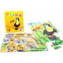 Efko Puzzle Zoo 24 dílků 2