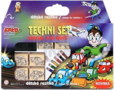 Efko Razítka sada Techni set