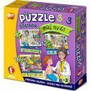 Efko Soubor Puzzle 3 v 1 Můj svět 2