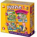 Efko Soubor puzzle 3 v 1 Moje rodina 2