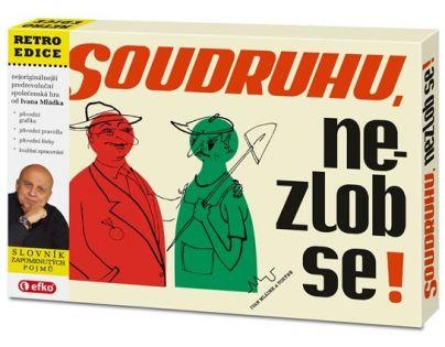 Efko Soudruhu nezlob se! společenská retro hra