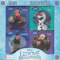 Egmont 4 knihy Ledové království Moje první knihovníčka