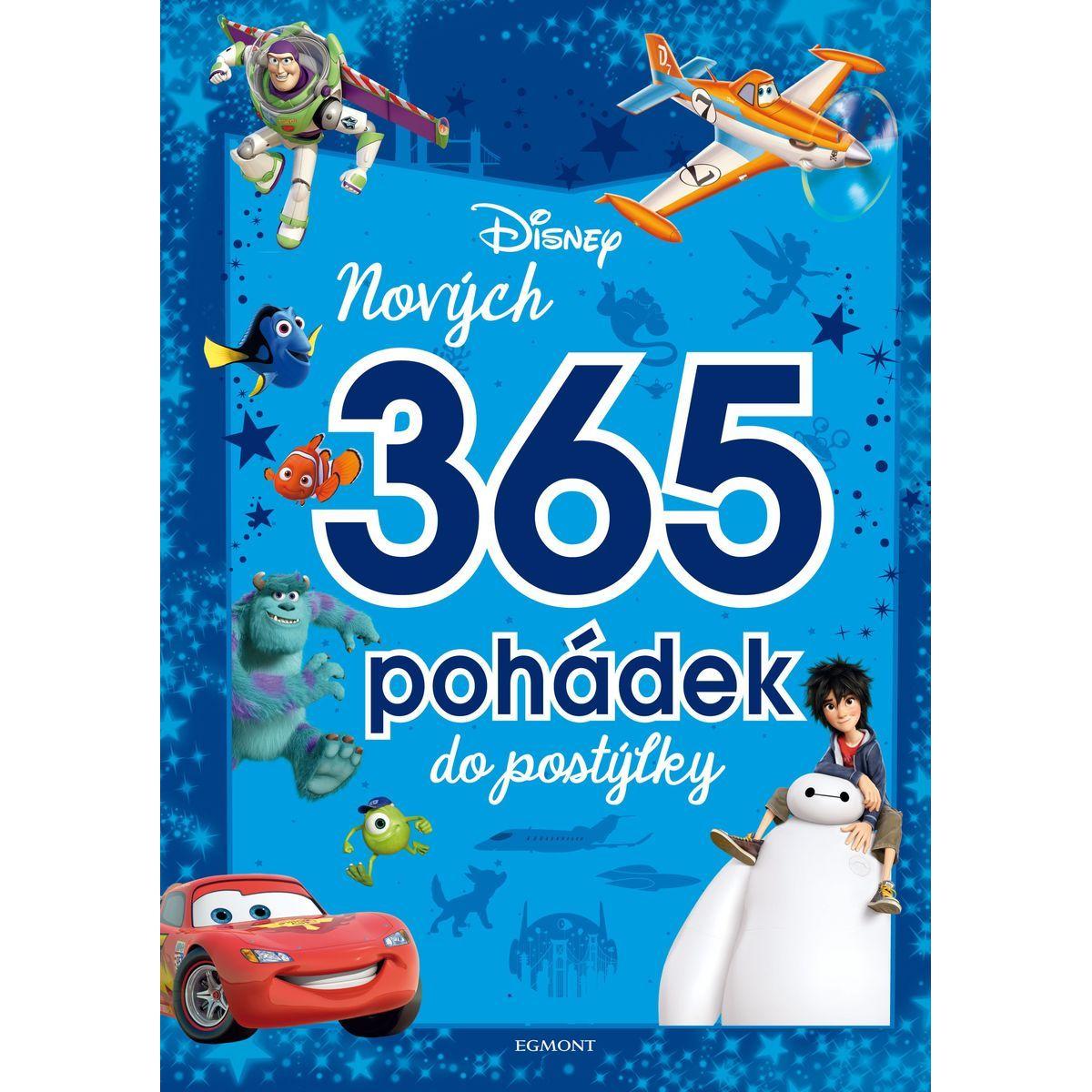 Egmont Disney Pixar Nových 365 pohádek do postýlky