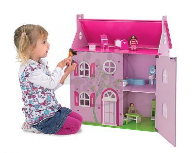 Eichhorn Dřevěný domeček pro panenky velký