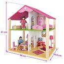Eichhorn Dřevěný malý domeček pro panenky 2