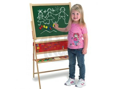 Eichhorn Magnetická tabule stojící se 42ks příslušenství
