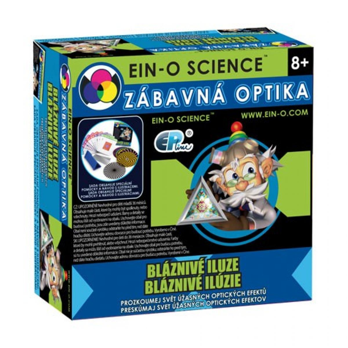 EIN-O Science Zábavná optika Bláznivé iluze