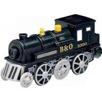 Maxim Elektrická lokomotiva - černá - Poškozený obal