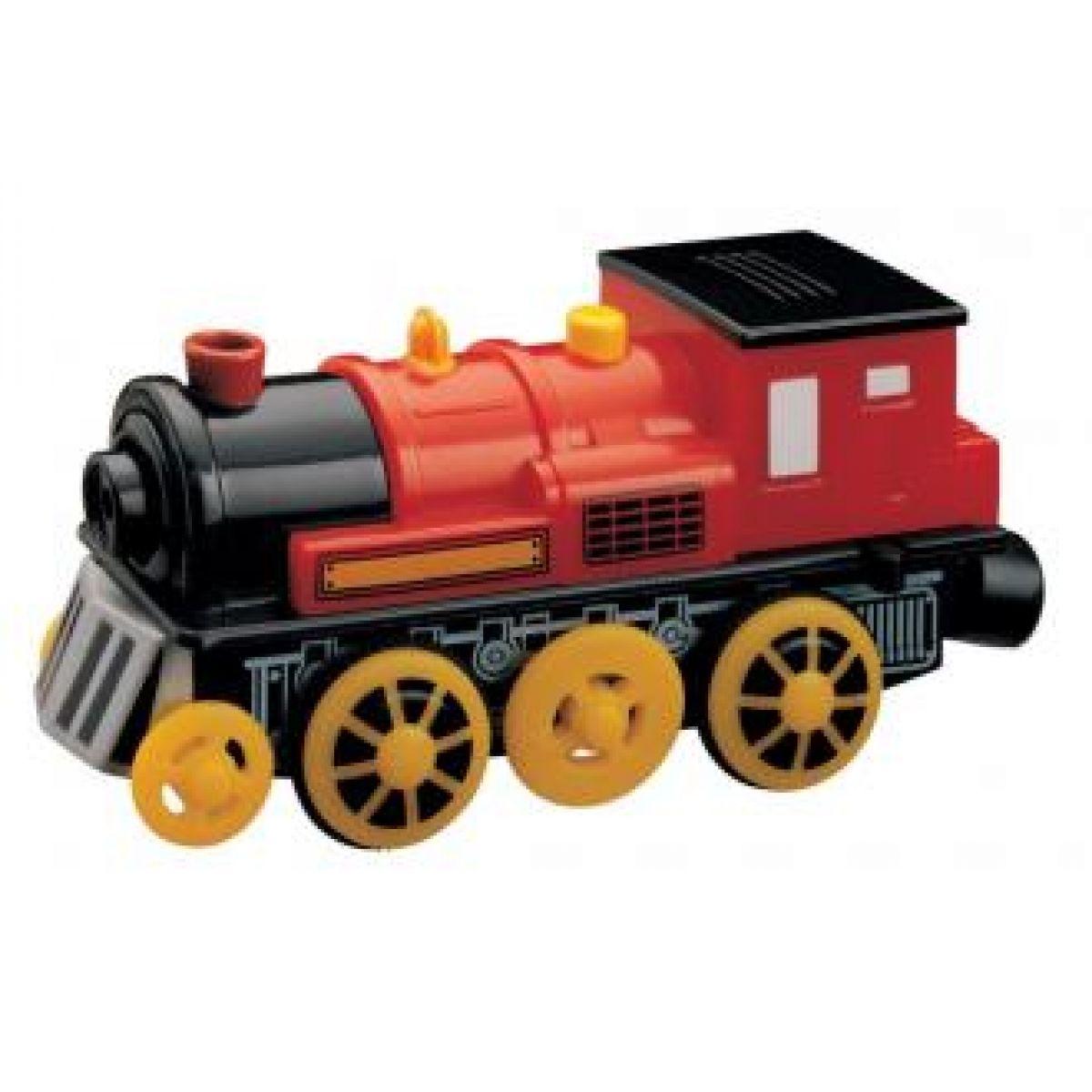 Elektrická lokomotiva - červená MAXIM 50412 - II.jakost