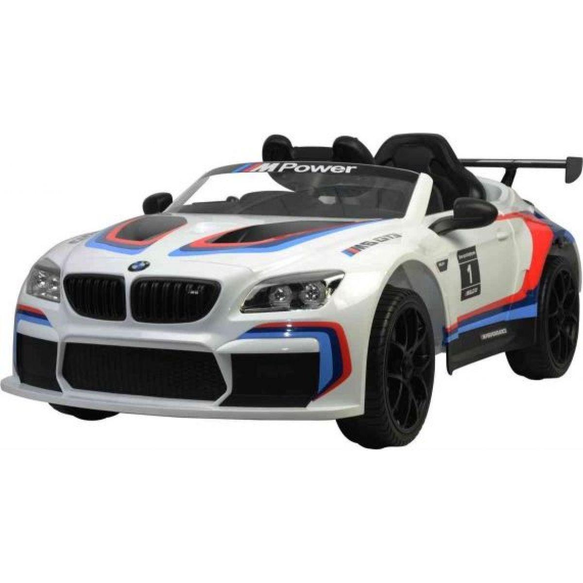 Fleg Elektrické auto BMW M6 GT3 bílé