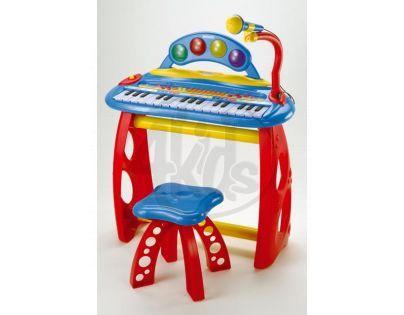 BONTEMPI MK3440 - Elektronické klávesy se stojanem a židličkou