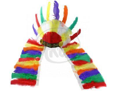 Rappa Čelenka indiánská barevná