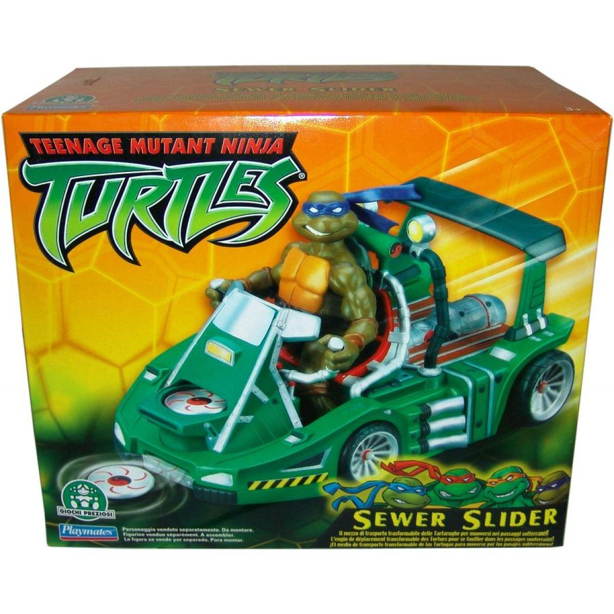 Želvy Ninja TMNT Bojová vozidla - Sewer Slider
