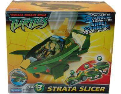 Želvy Ninja TMNT Bojová vozidla - Strata Slicer