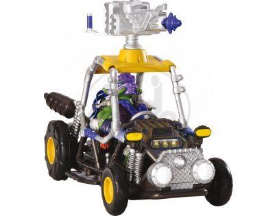 Želvy Ninja TMNT dopravní prostředek s figurkou - Sludge Runner Donatello