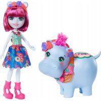 Enchantimals panenka s velkým zvířátkem Hedda Hippo a Lake