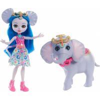 Enchantimals panenka s velkým zvířátkem Slon