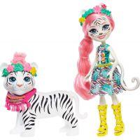 Enchantimals panenka s velkým zvířátkem Tadley Tiger a Kitty