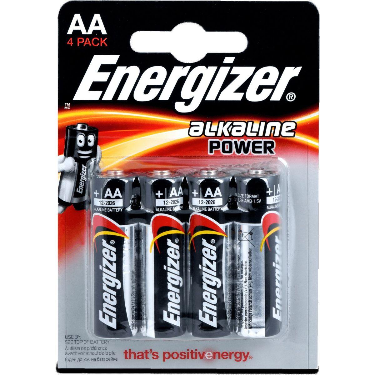 Energizer Base AA 4ks 7638900246599