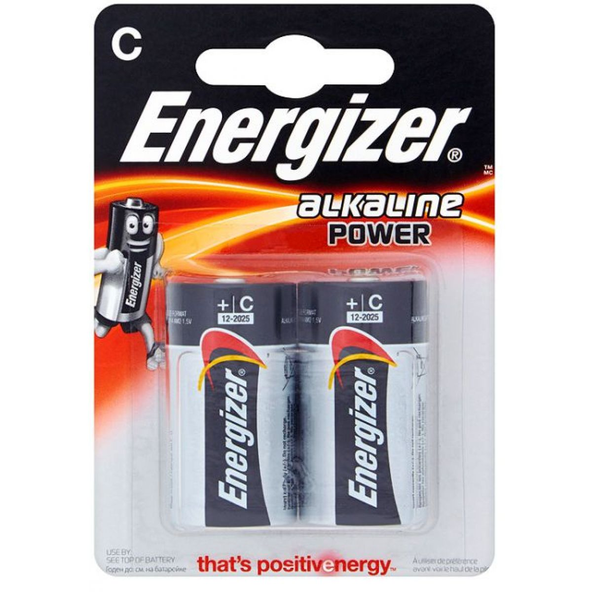 Energizer Alkaline Power C 2pack