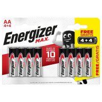 Energizer MAX AA 4+4 zdarma