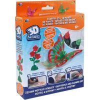 EP Line 3D Magic Tématická sada - Motýli a květiny