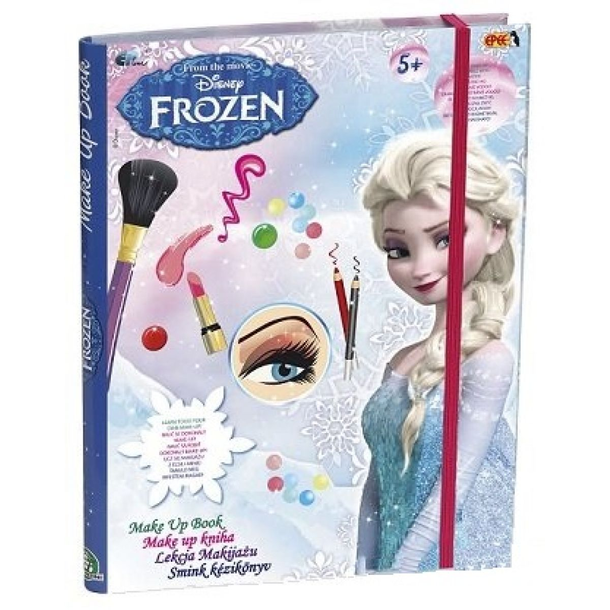 EP Line Disney Frozen Make-up kniha