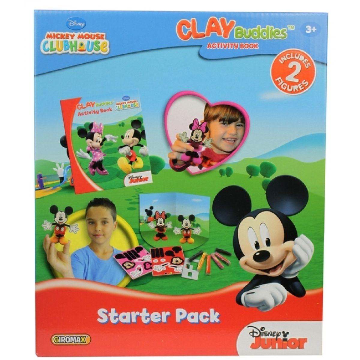 Modelína Plastelína Mickey Mouse s doplňky v krabici