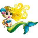 EPline EP00860 - Kouzelná mořská víla,1 pack 2