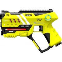 EP Line Laser game Sada se dvěma pistolemi žlutá a červená