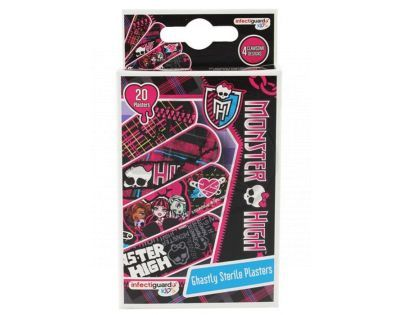 Monster High -  48-23-48135-1 - Monster High Náplasti