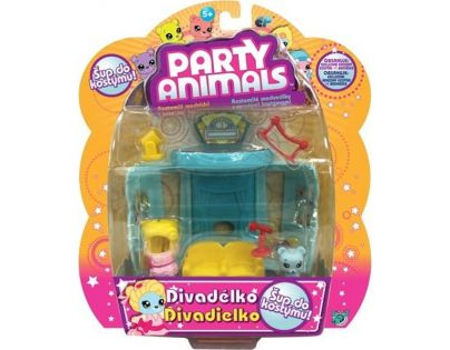 EP Line Party Animals Hrací sada - Divadélko