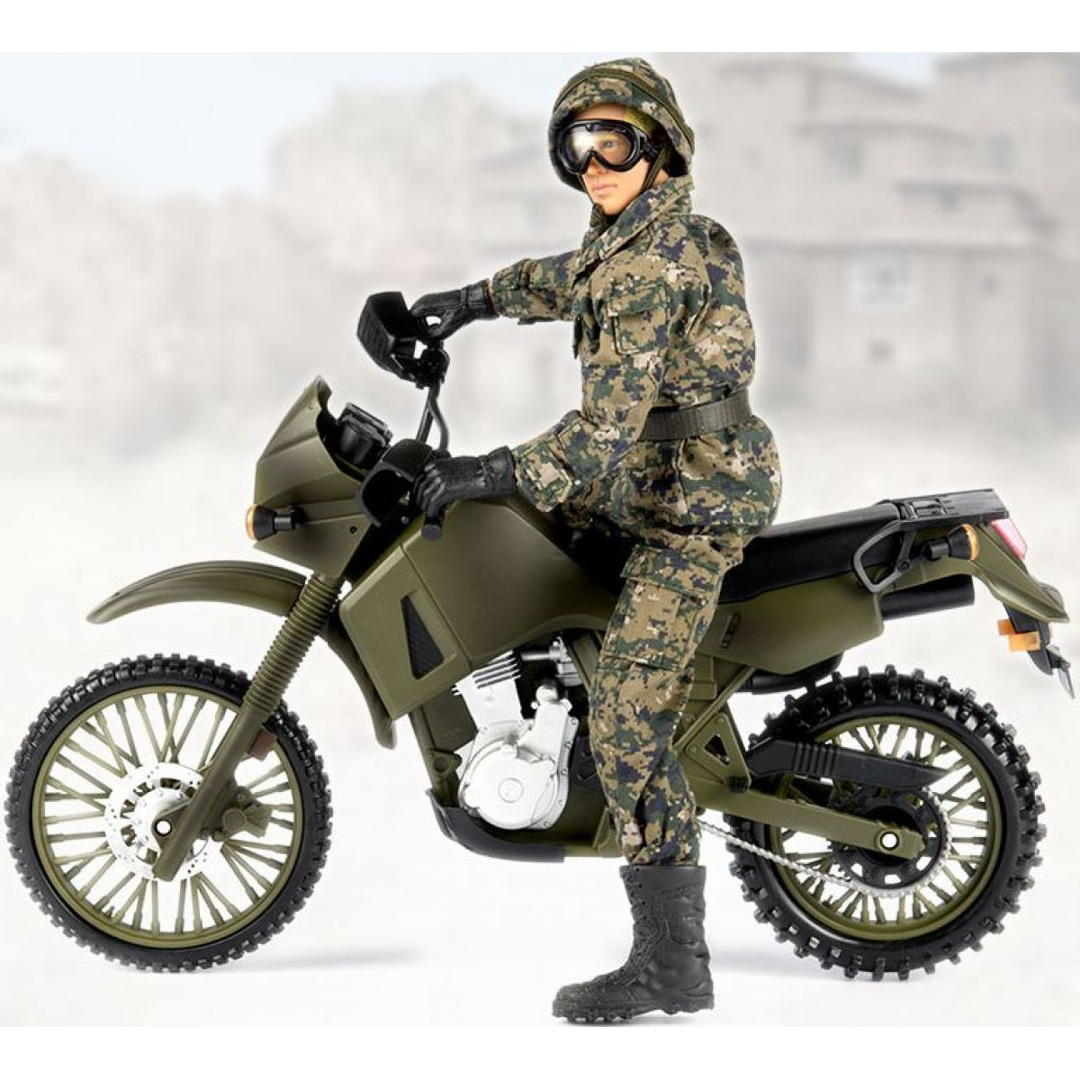 Ep Line Peacekeepers 30,5 cm Motorka Kawasaki KLR650