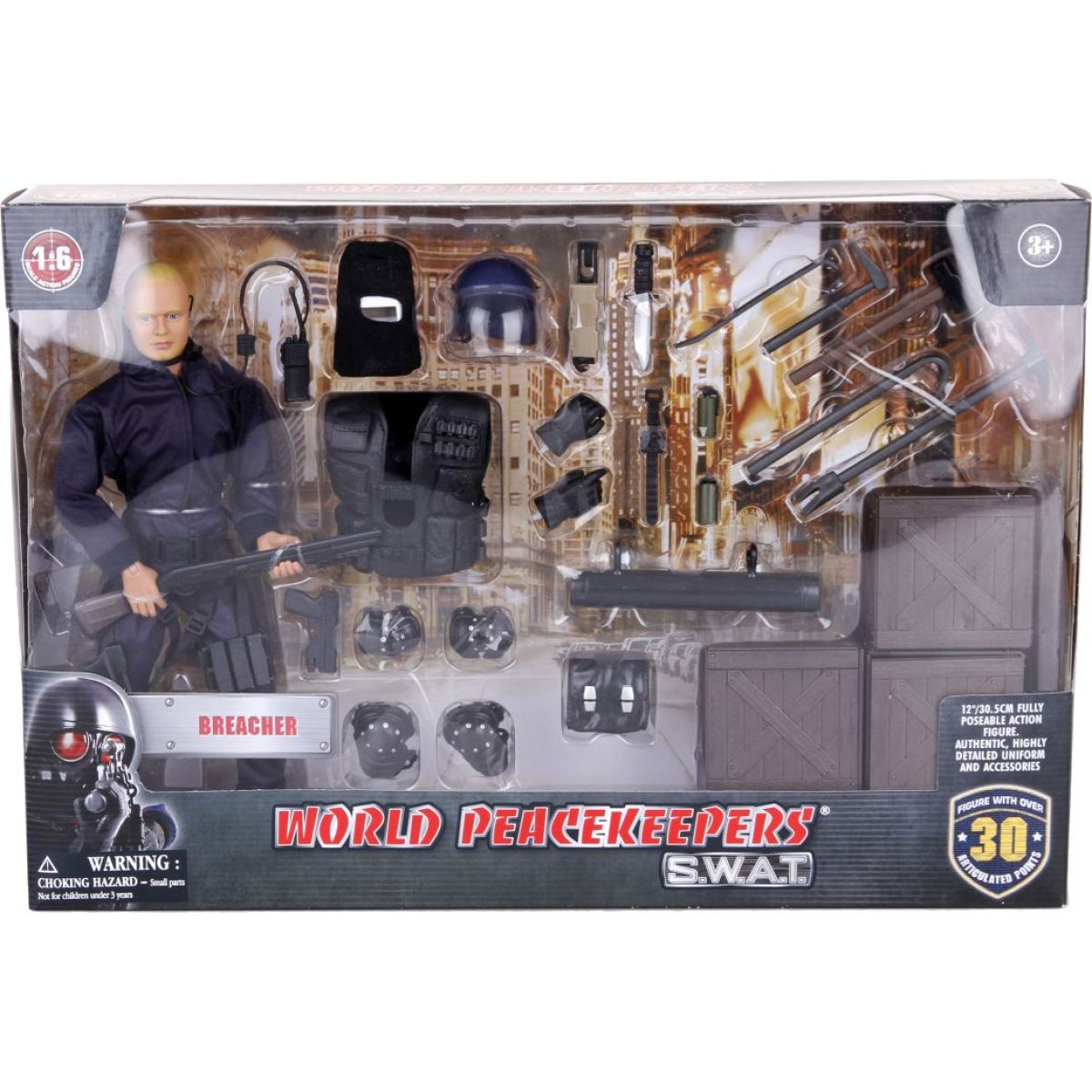 Ep Line Peacekeepers 30,5 cm S.W.A.T. hrací set Bedny