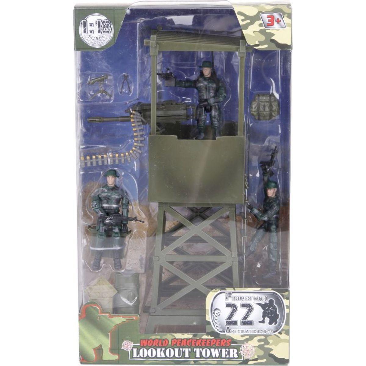 Ep Line Peacekeepers strážní věž 3 figurky