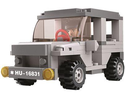Sluban Stavebnice 3v1 Jeep