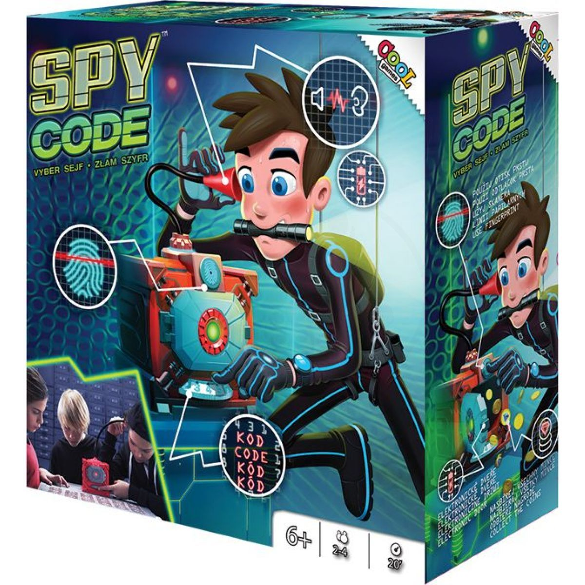 EP Line Cool Games Spy Code