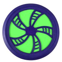 EPline Flexi disc, asst 3 zeleno-fialový