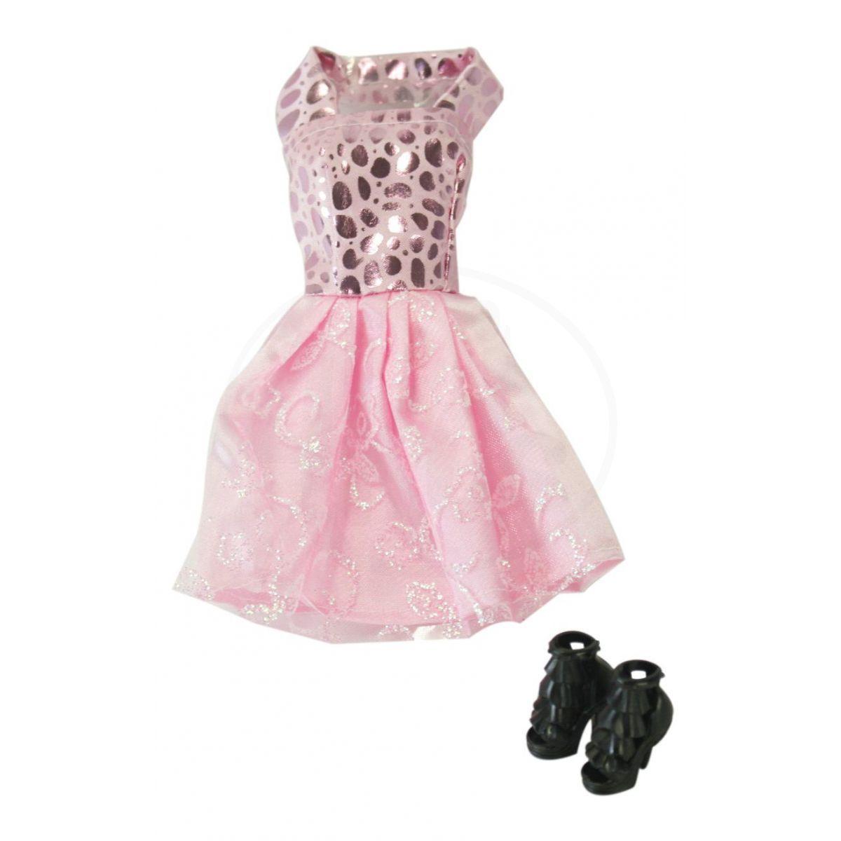 EPline Šatičky pro panenky s doplňky růžové šaty fc20799382