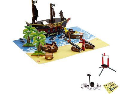 EPline Stikbot Filmařská sada Pirátská loď