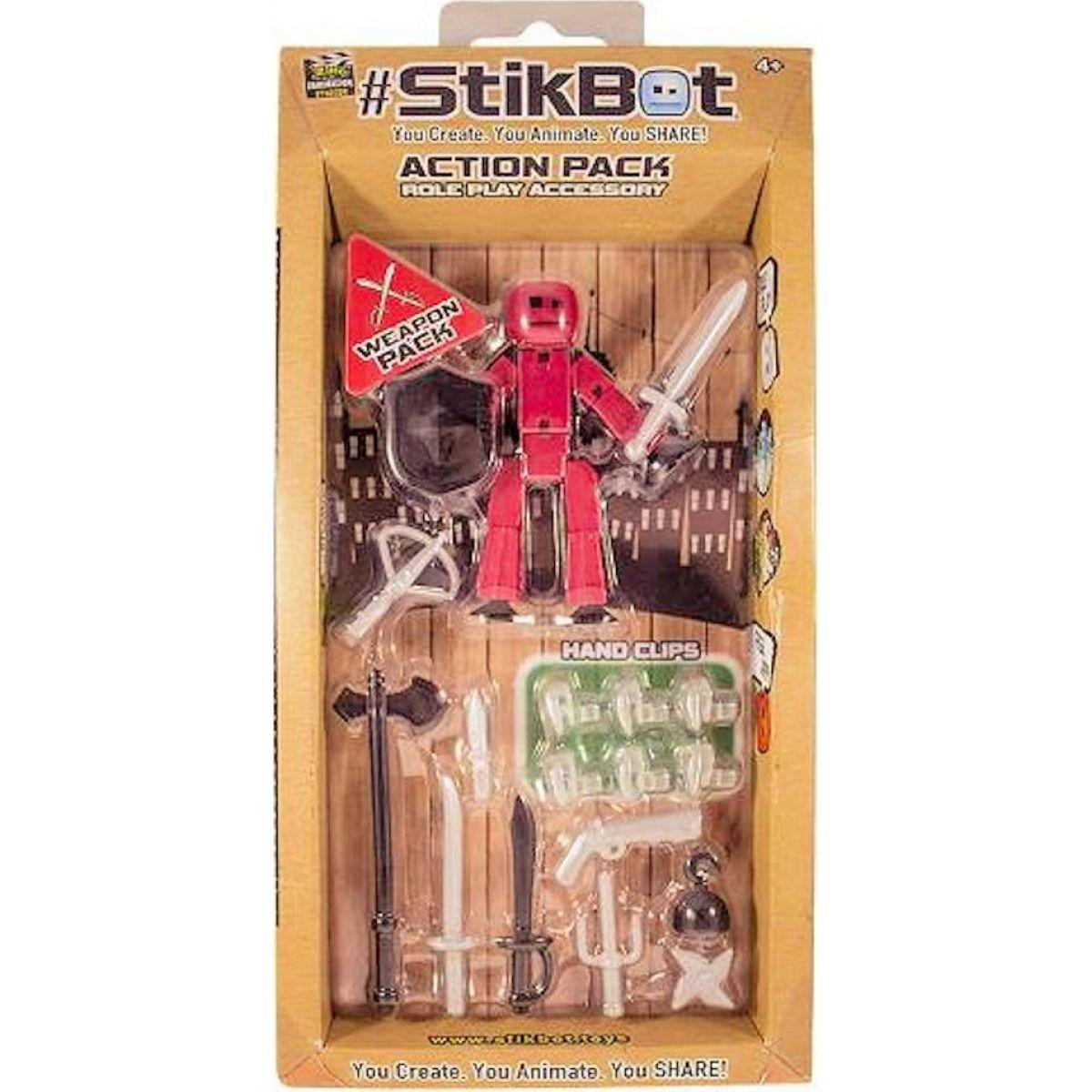 Epline Stikbot Sada figurka s doplňky Sada se zbraněmi