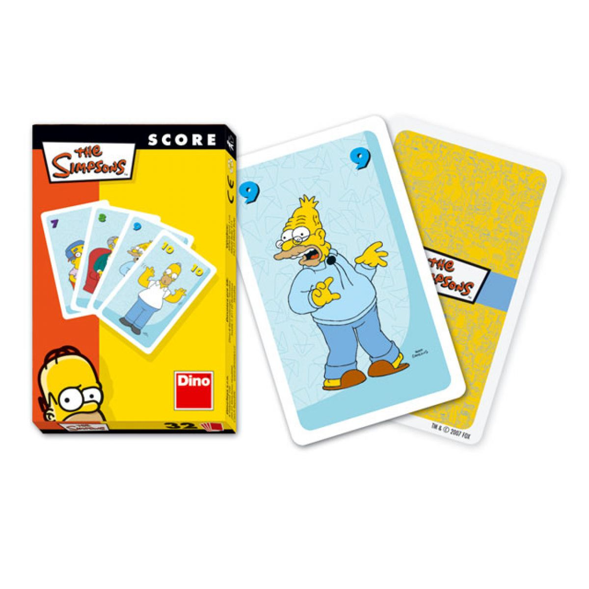 Dino 605480 - Simpsonovi - karetní hra Score