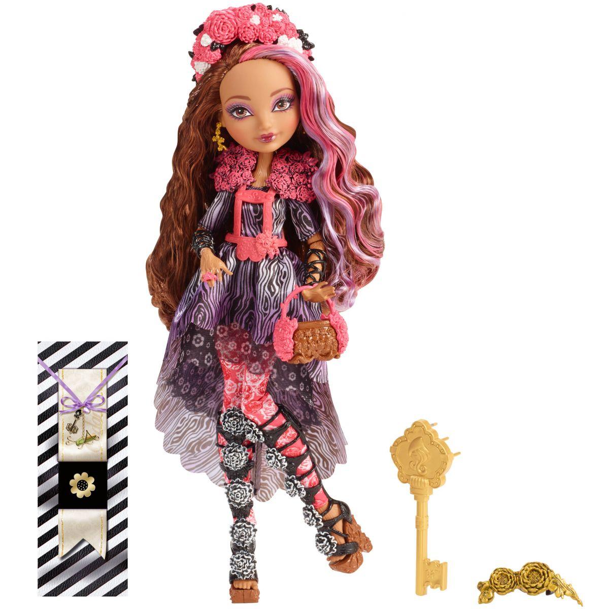 Mattel Ever After High Bouřlivé jaro panenka - Cedar Wood