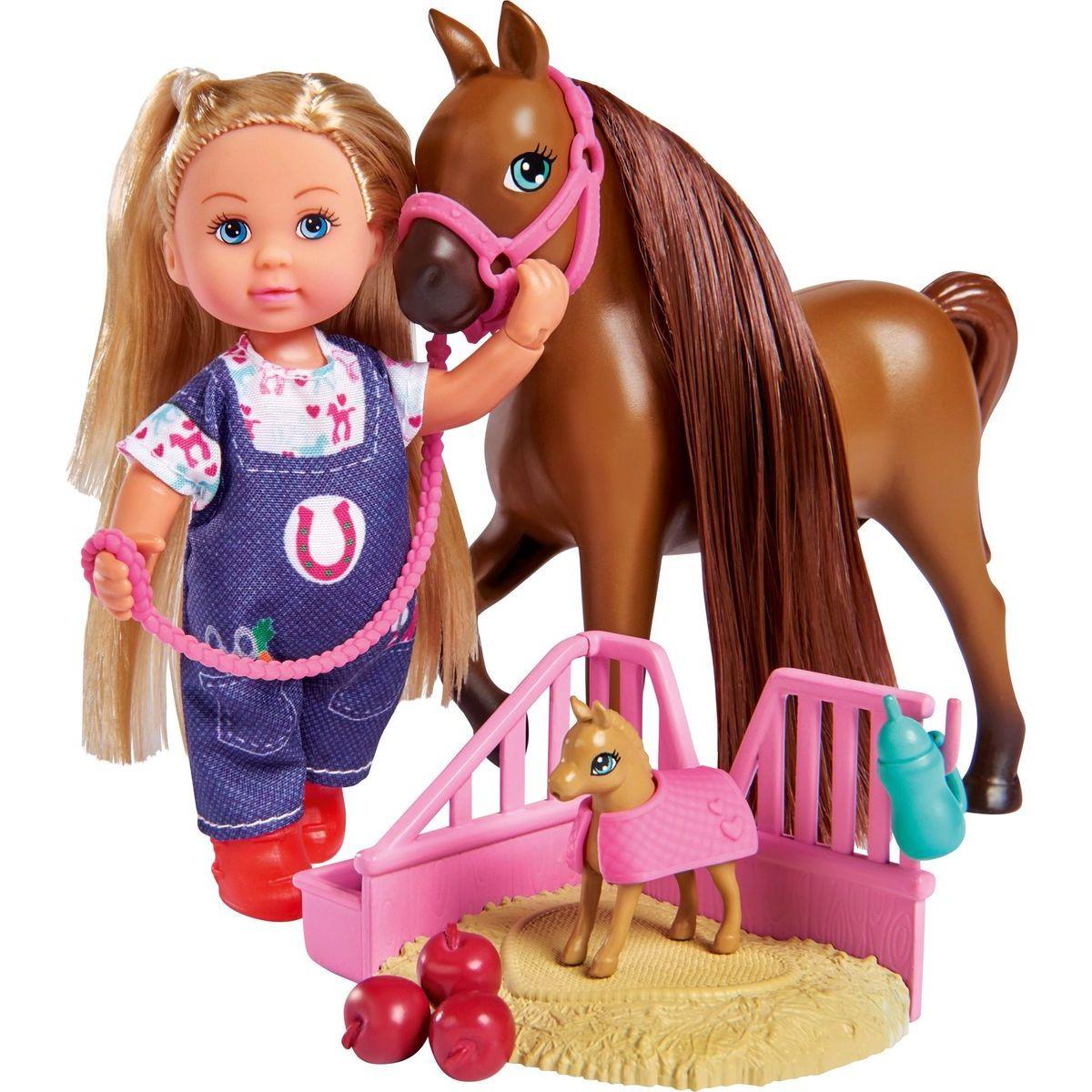 Evi Love Bábika Evička veterinárka Welcome Horse