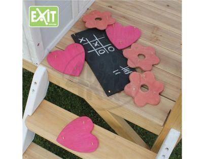 Exit Dekorační set pro domečky - květiny, srdce