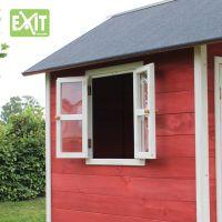 Exit Dřevěný domeček Loft 100 červený 3