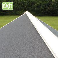 Exit Dřevěný domeček Loft 100 červený 5